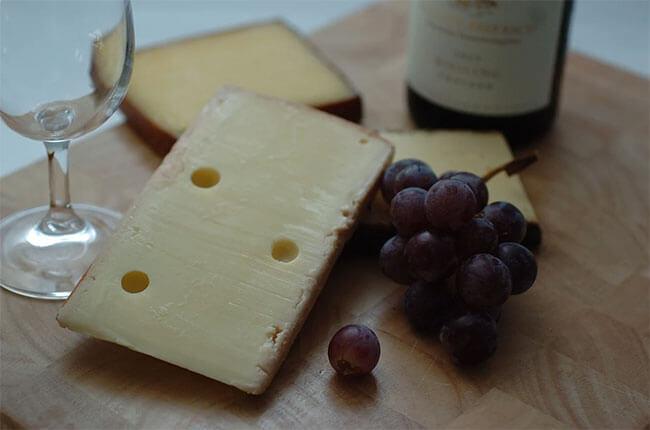 maridar quesos y vinos