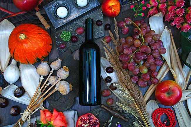 equilibrio en el maridaje de vinos y comida