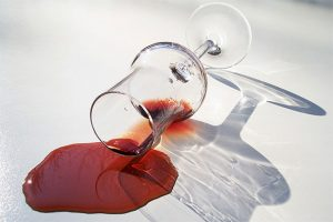 quitar manchas de vino