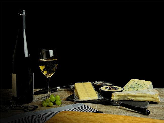 Maridaje de vinos blancos