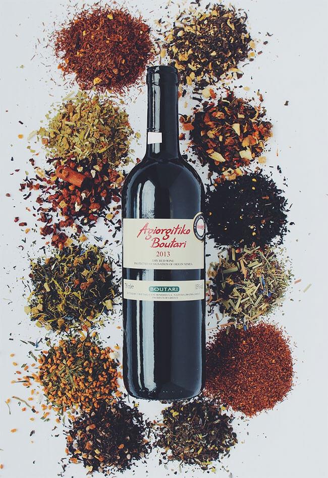 sabores vinos tintos
