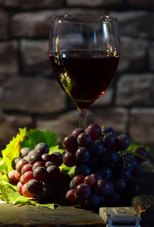 Tipos de uva para vinos tintos