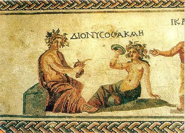 Historia del vino en la Grecia clásica
