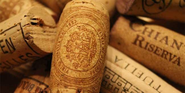 corchos de vino chianti