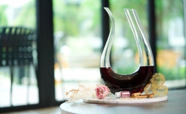 comprar un decantador de vino de diseño
