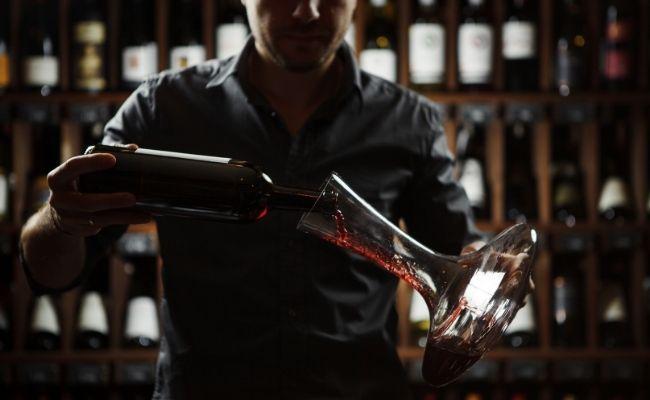decanter de vino